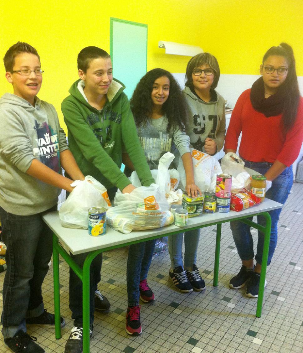 COP 21 : Les actions menées par des élèves de 4ème 5