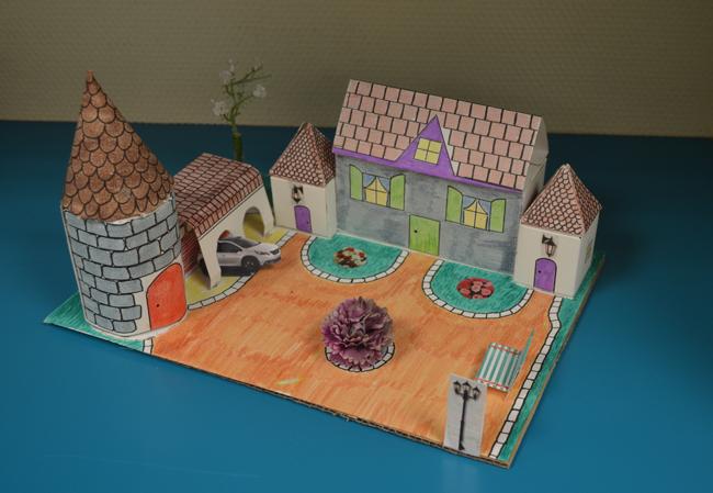 Construire une maison avec des objets mathématiques
