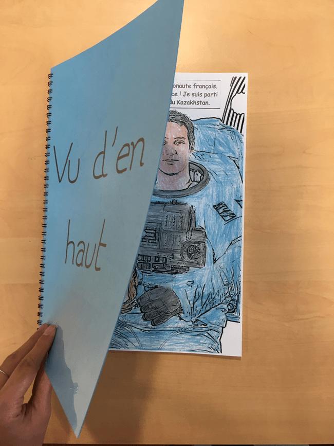 Vu d'en haut, un livre créé par les élèves de l'IME