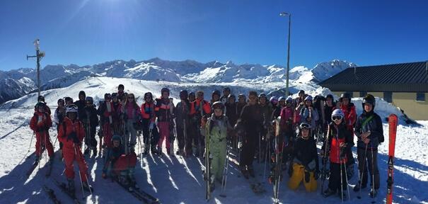 Séjour ski à Bagnères de Luchon du 3 au 8 Février 2019
