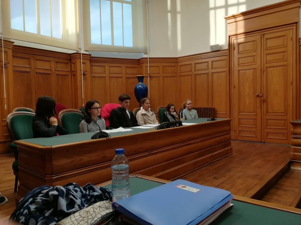 Les élèves de Notre Dame, «acteurs» au tribunal