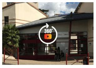Visite virtuelle à 360° du collège
